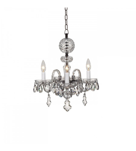 Waterford crystal 128 807 catina 3 light 16 inch crystal chandelier waterford crystal 128 807 catina 3 light 16 inch crystal chandelier ceiling light photo aloadofball Image collections
