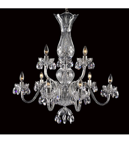 Waterford Crystal 136-408 Blue Bell 9 Light 29 inch Crystal Chandelier Ceiling Light photo