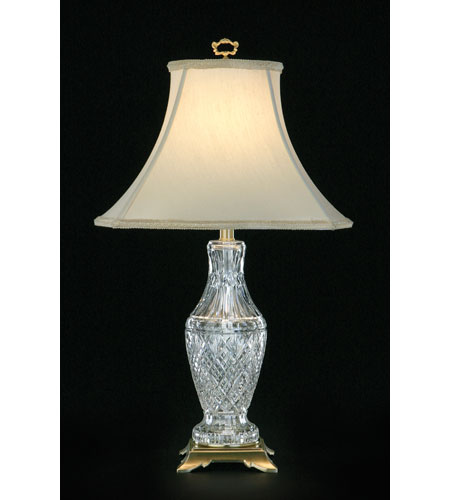 Waterford Crystal Satin Brass Tramore Table Lamp 136 905 29 00