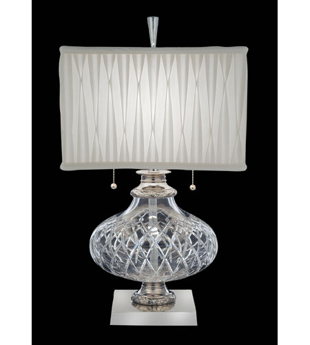 Waterford Crystal Polished Nickel Elton Table Lamp 146-376-28-PN photo