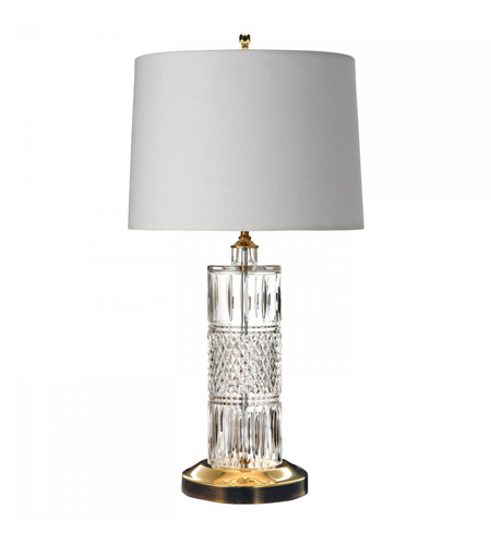 Irish lace 24 inch polished brass table lamp portable light waterford crystal 40002923 irish lace 24 inch polished brass table lamp portable light photo aloadofball Images