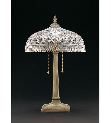 Lovely Waterford Crystal Verdi Beaumont Table Lamp 849 285 23 10 Photo