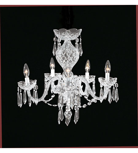 Waterford Crystal 950-000-02-11 Comeragh 5 Light 22 inch Clear Crystal Chandelier Ceiling Light photo