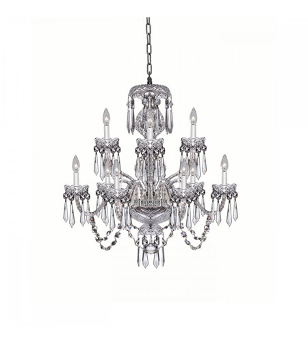 Waterford Crystal 950-000-05-11 Granmore 9 Light 28 inch Clear Crystal Chandelier Ceiling Light photo