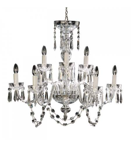 Waterford crystal 950 000 36 11 lismore 9 light 32 inch clear waterford crystal 950 000 36 11 lismore 9 light 32 inch clear crystal chandelier ceiling light aloadofball Choice Image