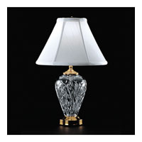Waterford Crystal Polished Brass Kilkenny Accent Lamp  020-465-07-00 photo thumbnail