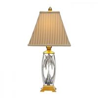 Waterford Crystal 108-297-26-00 Finn 26 inch 100.00 watt Versailles Brass Table Lamp Portable Light