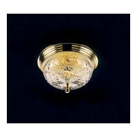 Waterford Crystal Polished Brass Beaumont Ceiling Fixture 101-519-07-00