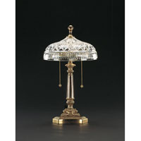 Waterford Crystal Honey Brass Beaumont Accent Lamp  101-519-10-00 photo thumbnail