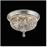 Waterford Crystal 101-519-07-10 Beaumont 2 Light 12 inch Silver Flush Mount Ceiling Light