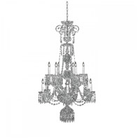 Waterford Crystal 103-396 Ardmore 12 Light 35 inch Crystal Chandelier Ceiling Light