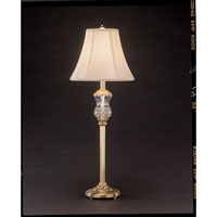 Waterford Crystal Versailles Brass Thistle Buffet Lamp 108-294-32-00
