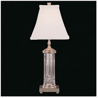 Lismore 22 inch 60 watt Silver Table Lamp Portable Light
