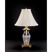 Waterford Crystal Polished Brass Killarney Table Lamp 115-012-26-00
