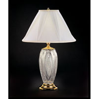 Waterford Crystal Polished Brass Reflections Table Lamp 116-658-30-00