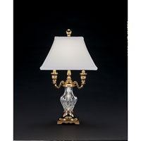 Waterford Crystal Polished Brass Glenn Desk Lamp 117-603-17-00