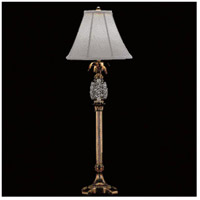 Hospitality 35 inch 60 watt Polished Brass Buffet Lamp Portable Light
