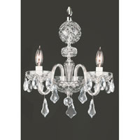 Waterford Crystal Crystal Catrina Three Arm Chandelier 128-807 photo thumbnail