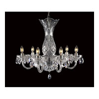 Waterford Crystal 136-406 Bluebell 6 Light 23 inch Crystal Chandelier Ceiling Light photo thumbnail