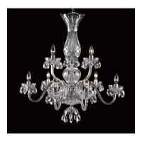 Waterford Crystal 136-408 Blue Bell 9 Light 29 inch Crystal Chandelier Ceiling Light