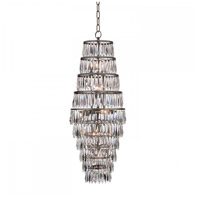 Waterford Crystal 156-908 Etoile Nouveau 16 inch Chandelier Ceiling Light