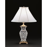 Waterford Crystal Polished Brass Kingsley Table Lamp 202-732-09-10 photo thumbnail