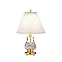 Alana 15 inch Polished Brass Accent Lamp Portable Light