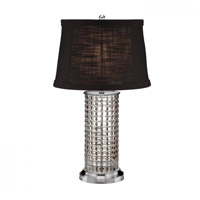 Waterford Crystal 40023308 Kilrush 26 inch Satin Nickel Table Lamp Portable Light