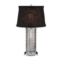 Waterford Crystal 40023308 Kilrush 26 inch Satin Nickel Table Lamp Portable Light