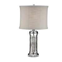 Waterford Crystal 40026129 Dungarvan 28 inch Brushed Satin Table Lamp Portable Light