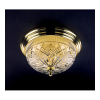 Waterford Crystal Polished Brass Beaumont Ceiling Fixture 849-285-10-00