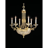 Beaumont 9 Light 27 inch Gold Plated Chandelier Ceiling Light