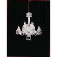 Waterford Crystal Crystal Powerscourt Twelve Arm Chandelier 950-000-08-11