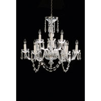Waterford Crystal Crystal Lismore Nine Arm Chandelier 950-000-36-11