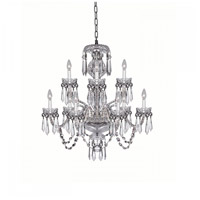 Cranmore 9 Light 28 inch Clear Crystal Chandelier Ceiling Light