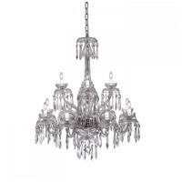 Waterford Crystal 950-000-08-11 Powercourt 12 Light 36 inch Clear Crystal Chandelier Ceiling Light
