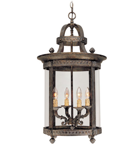 World Import Designs Chatham 4 Light Foyer in French Bronze 1604-63 photo