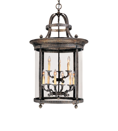 World Import Designs Chatham 9 Light Foyer in French Bronze 1609-63 photo