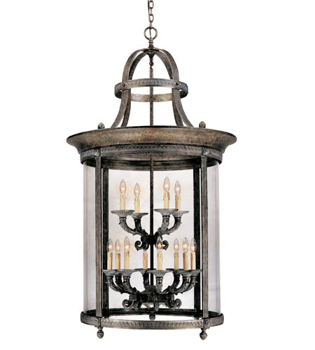 World Import Designs Chatham 12 Light Foyer in French Bronze 1612-63 photo