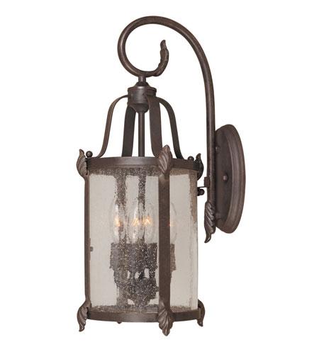 World Import Designs Old Sturbridge 4 Light Outdoor Wall Lantern in Bronze 1693-89 photo
