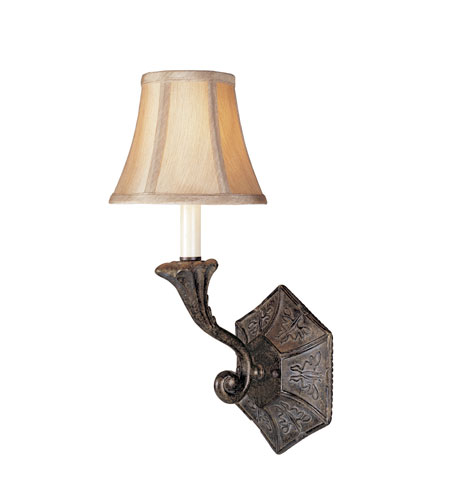 World Import Designs Avignon 1 Light Wall Sconce in French Bronze 3161-63 photo