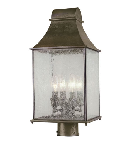 World Import Designs Revere 4 Light Post Lantern in Flemish 61317-06 photo