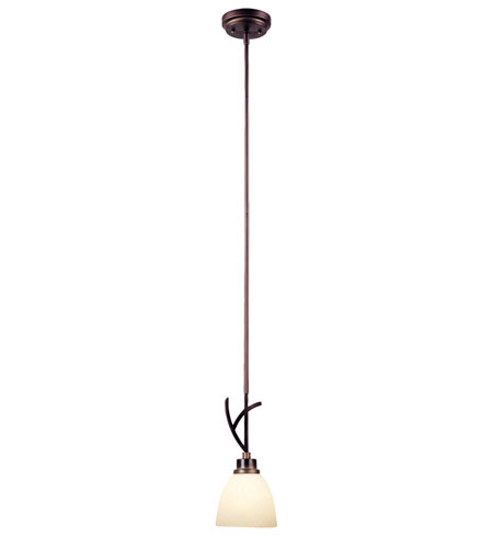 World Import Designs Beyond Modern 1 Light Pendant in Weathered Copper 61514-56 photo