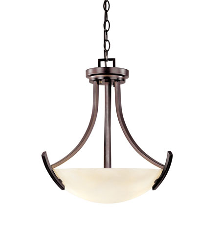 World Import Designs Beyond Modern 5 Light Pendant in Weathered Copper 61519-56 photo