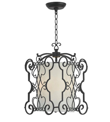 World Import Designs 7503-42 Amelia 3 Light 14 inch Rust Pendant Ceiling Light photo
