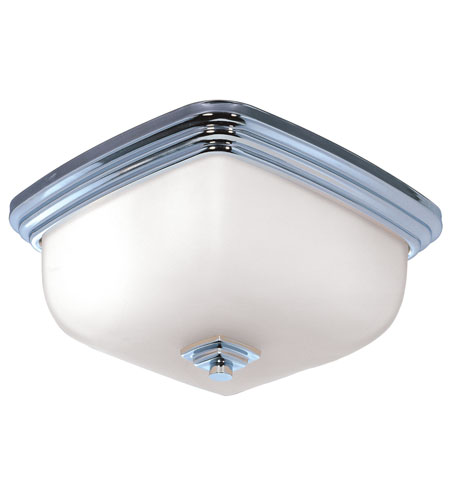 World Import Designs Galway 1 Light Flush Mount in Chrome 8572-08 photo