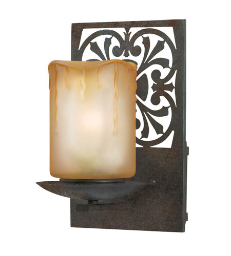 World Import Designs Adelaide 1 Light Outdoor Wall Lantern in Bronze 9026-89 photo
