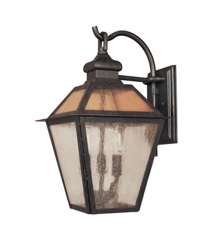 World Import Designs Cairns 4 Light Outdoor Wall Lantern in Flemish 9102-06 photo
