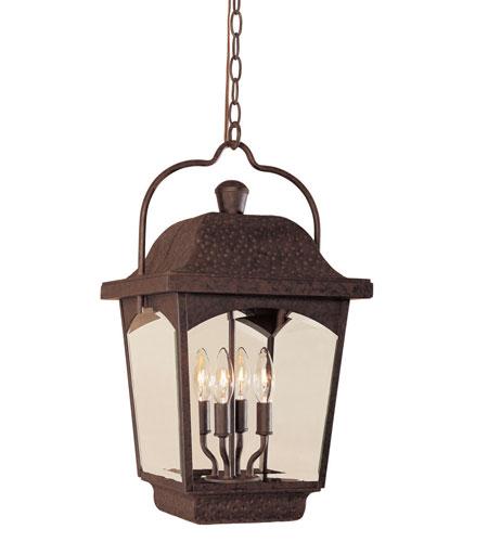 World Import Designs Ayrs 4 Light Outdoor Hanging Lantern in Bronze 9204-89 photo