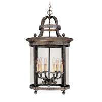 World Import Designs Chatham 6 Light Foyer in French Bronze 1606-63
